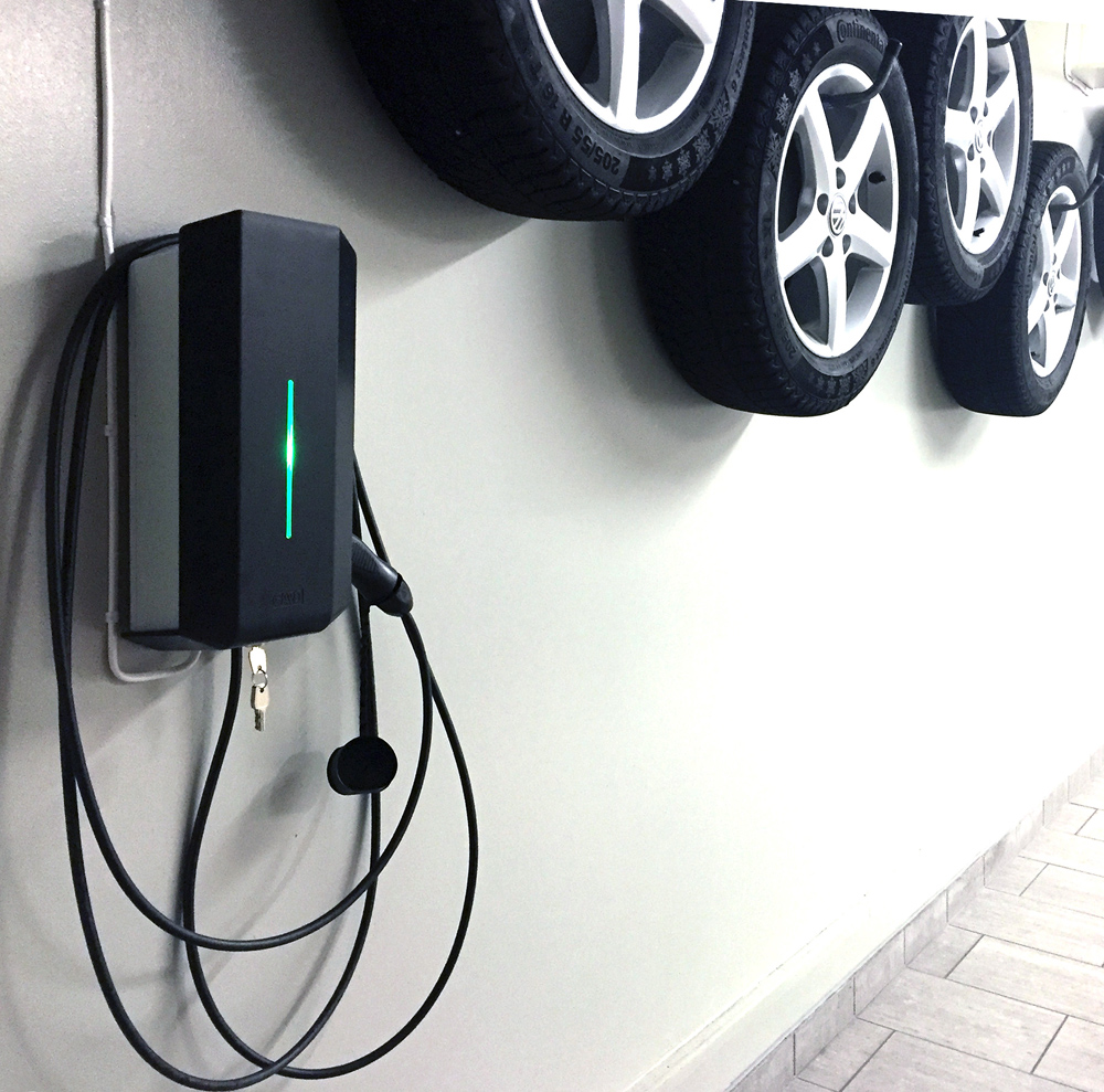 wall mounted charging stations